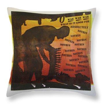 D U Rounds Project, Print 18 Throw Pillow