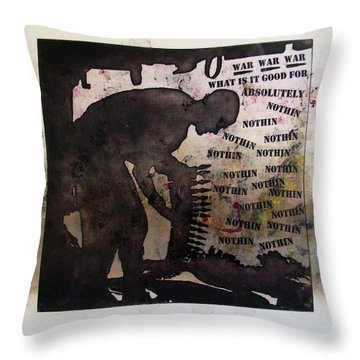 D U Rounds Project, Print 19 Throw Pillow