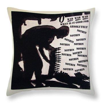 D U Rounds Project, Print 20 Throw Pillow