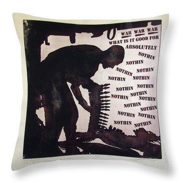 D U Rounds Project, Print 21 Throw Pillow