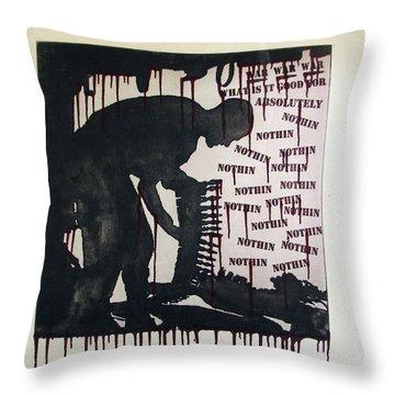 D U Rounds Project, Print 22 Throw Pillow