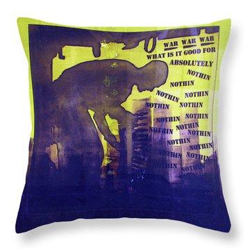 D U Rounds Project, Print 24 Throw Pillow