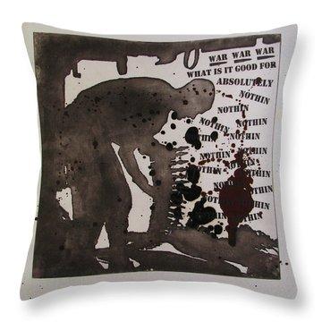 D U Rounds Project, Print 26 Throw Pillow