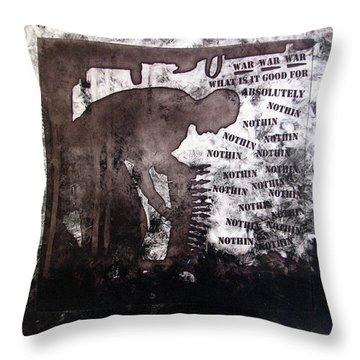 D U Rounds Project, Print 28 Throw Pillow