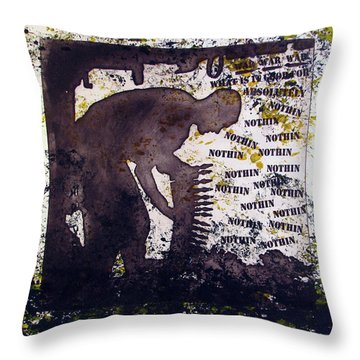 D U Rounds Project, Print 29 Throw Pillow