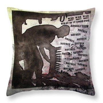 D U Rounds Project, Print 30 Throw Pillow