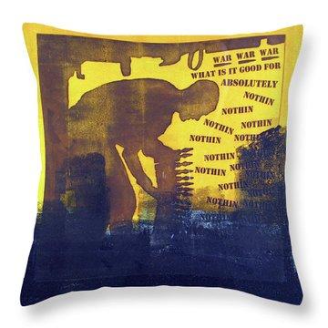D U Rounds Project, Print 31 Throw Pillow