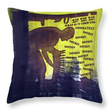 D U Rounds Project, Print 32 Throw Pillow