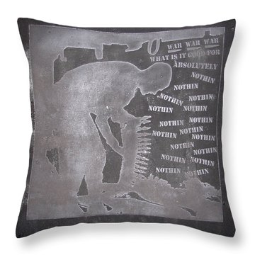 D U Rounds Project, Print 33 Throw Pillow