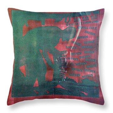 D U Rounds Project, Print 34 Throw Pillow