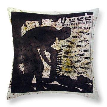 D U Rounds Project, Print 35 Throw Pillow