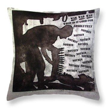 D U Rounds Project, Print 36 Throw Pillow