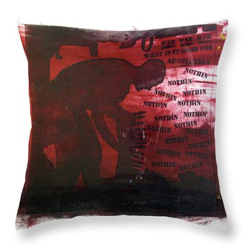 D U Rounds Project, Print 38 Throw Pillow