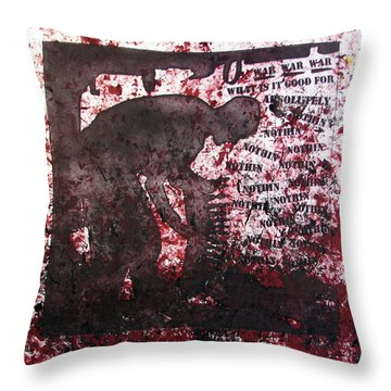 D U Rounds Project, Print 39 Throw Pillow