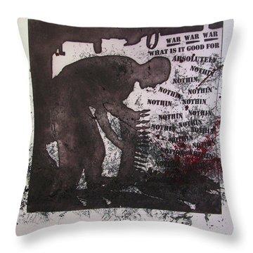 D U Rounds Project, Print 40 Throw Pillow
