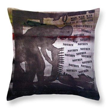 D U Rounds Project, Print 42 Throw Pillow