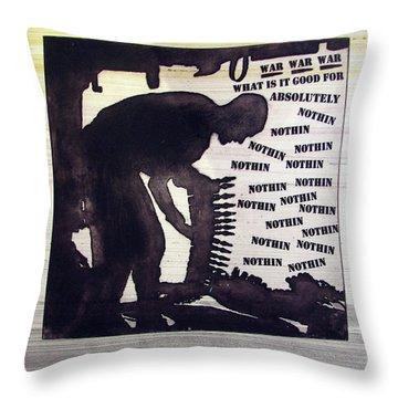 D U Rounds Project, Print 44 Throw Pillow