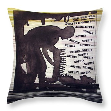 D U Rounds Project, Print 45 Throw Pillow