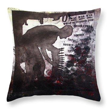 D U Rounds Project, Print 46 Throw Pillow