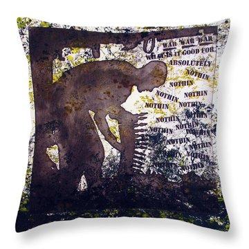 D U Rounds Project, Print 47 Throw Pillow