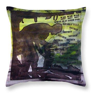 D U Rounds Project, Print 48 Throw Pillow