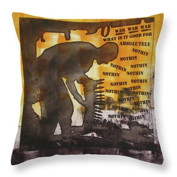 D U Rounds Project, Print 49 Throw Pillow