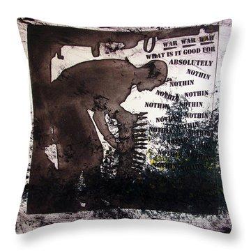D U Rounds Project, Print 50 Throw Pillow