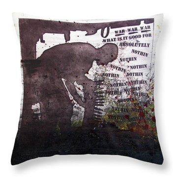 D U Rounds Project, Print 51 Throw Pillow