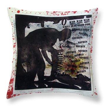 D U Rounds Project, Print 52 Throw Pillow