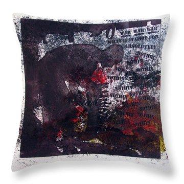 D U Rounds Project, Print 7 Throw Pillow
