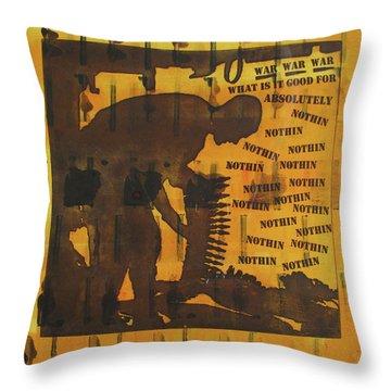 D U Rounds Project, Print 9 Throw Pillow