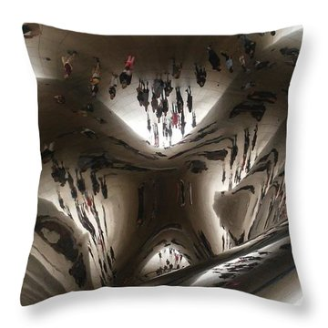 Da Bean Throw Pillow