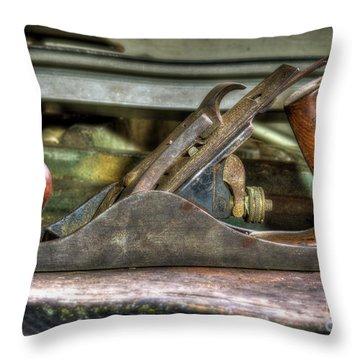 Throw Pillow featuring the photograph Da Plane by Douglas Stucky