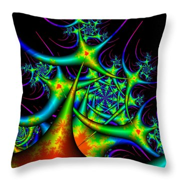 Dactimorse Throw Pillow