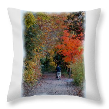 Daddy-daughter Time Throw Pillow