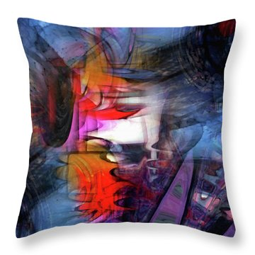 Dae 11 Throw Pillow