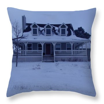 Dahl House Throw Pillow