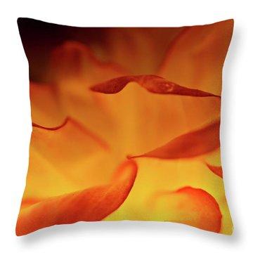 Dahlia Delight Throw Pillow