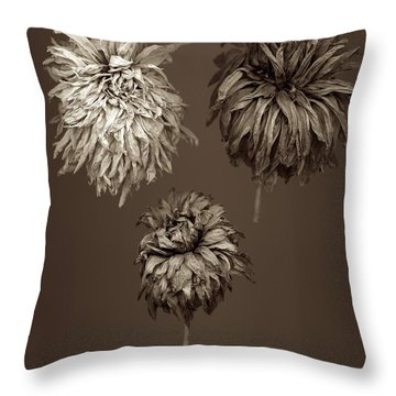 Dahlia  Grouping Throw Pillow