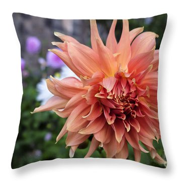 Dahlia - Inverness Throw Pillow by Amy Fearn