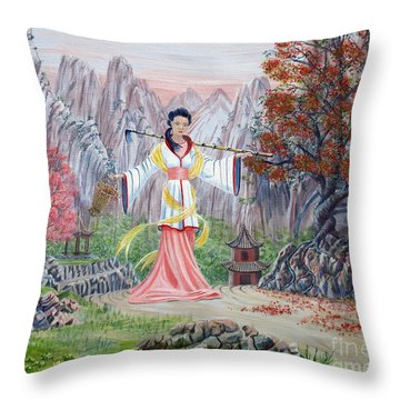 Dai Yuu Throw Pillow