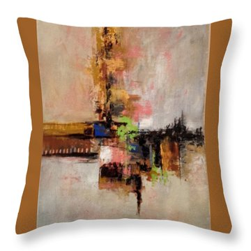 Daily #5 Throw Pillow by Suzzanna Frank
