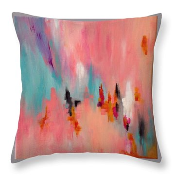 Daily #6 Throw Pillow by Suzzanna Frank