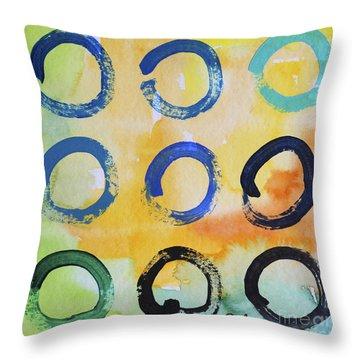 Daily Enso - The Nine Throw Pillow