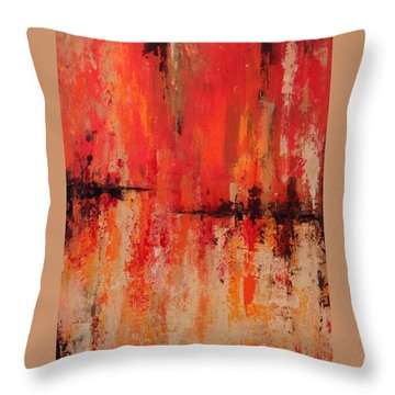 Daily  Throw Pillow by Suzzanna Frank