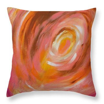 Daily#3 Throw Pillow by Suzzanna Frank