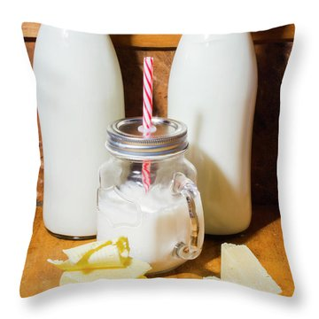 Dairy Delights Throw Pillow