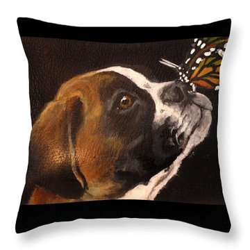 Daisy 2 Throw Pillow