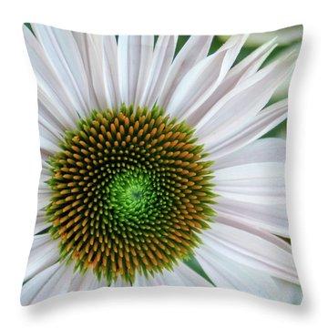 Daisy Center Throw Pillow