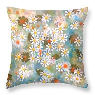 The Poet's Garden Throw Pillow